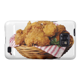 Basket of fried chicken samsung galaxy s cover