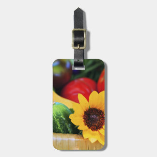 Basket of Garden s Harvest Tags For Luggage