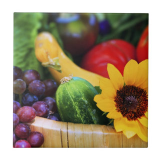 Basket of Garden's Harvest Tiles