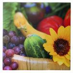 Basket of Garden's Harvest Tile