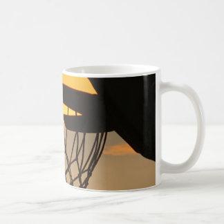 Basket of gold coffee mug