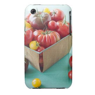Basket of Heirloom Tomatoes iPhone 3 Case