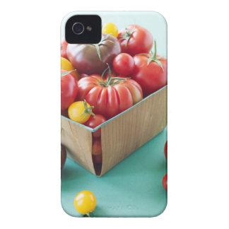 Basket of Heirloom Tomatoes iPhone 4 Case
