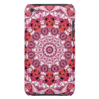 Basket of Lace, Abstract Red, Pink, White Mandala iPod Touch Covers