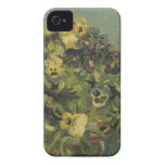 Basket of pansies Barely There™ iPhone 4 iPhone 4 Cases