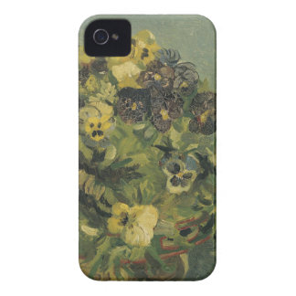 Basket of pansies Barely There™ iPhone 4 iPhone 4 Cover