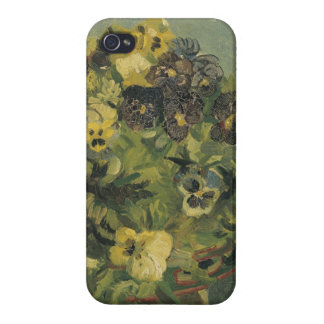 Basket of pansies cases for iPhone 4