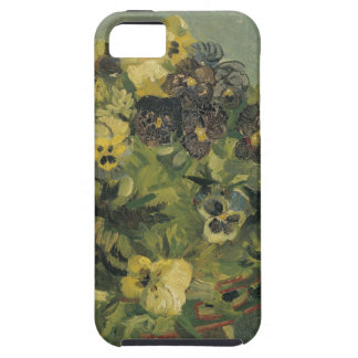 Basket of Pansies on a Small Table by Van Gogh iPhone 5 Covers