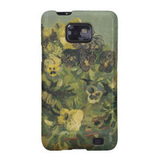 Basket of pansies Samsung Galaxy Case Samsung Galaxy S2 Covers