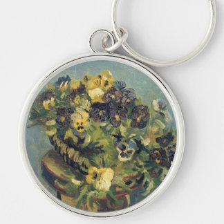 Basket of Pansies, Vincent Van Gogh Key Chains