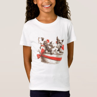 Basket of Puppies T-Shirt
