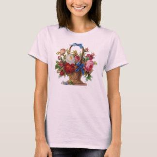 Basket of Roses Vintage T-shirt