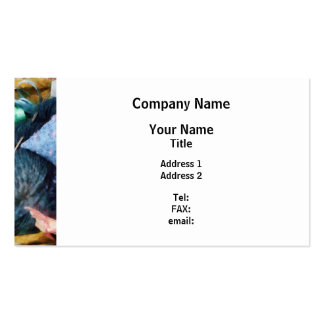 Basket of Sewing Supplies Business Card