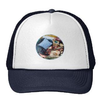 Basket of Sewing Supplies Trucker Hat