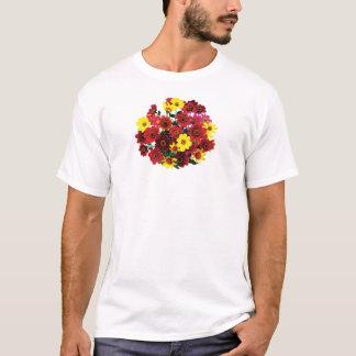 Basket of Single Dahlias Mens T-Shirt