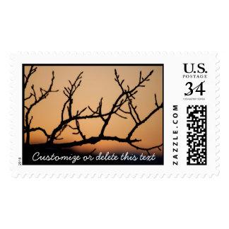 Basket of Sunset; Customizable Stamp