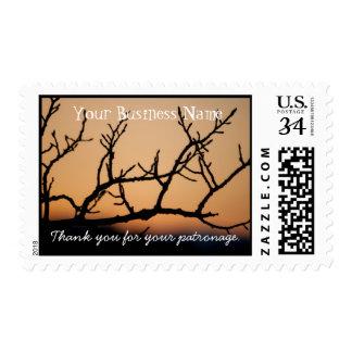 Basket of Sunset; Promotional Stamp