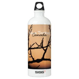 Basket of Sunset; Yukon Territory Souvenir Water Bottle
