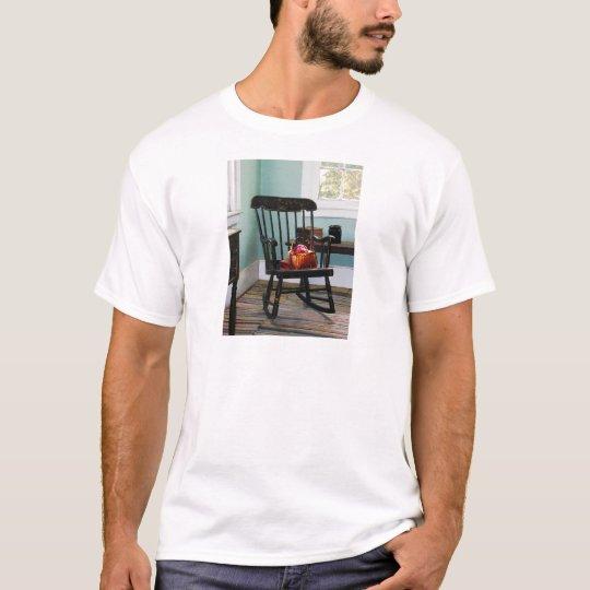 Basket of Yarn on Rocking Chair T-Shirt