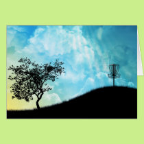 Basket On A Hill #2 Card