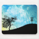 Basket On A Hill #2 Mousepads