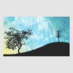 Basket On A Hill #2 Rectangular Sticker