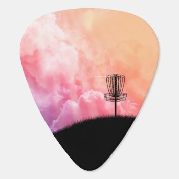 Basket On A Hill Guitar Pick by philthebasket at Zazzle