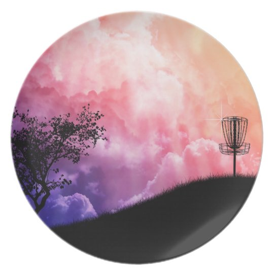 Basket On A Hill Melamine Plate