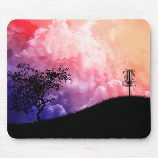 Basket On A Hill Mouse Pad