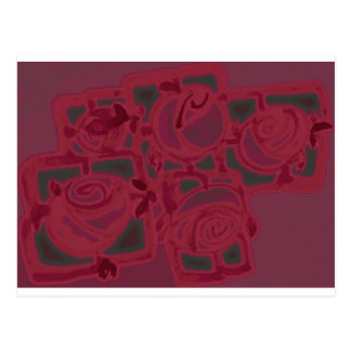 basket ROSES.jpg Post Cards