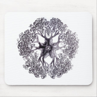 Basket Star Mouse Pad