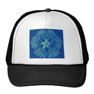 basket stars trucker hat
