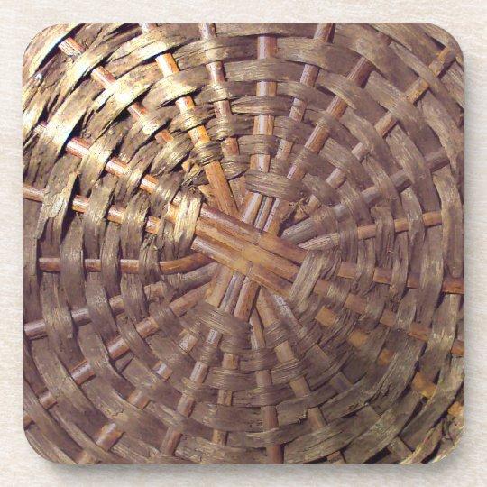 Basket Texture Coaster