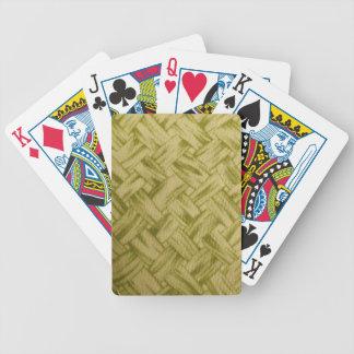 Basket Weave Deck Of Cards