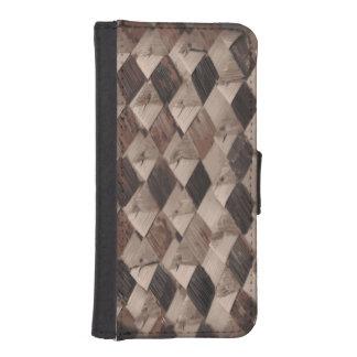 Basket Weave iPhone 5/5s Wallet Case