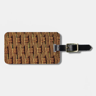 Basket Weave Tags For Bags