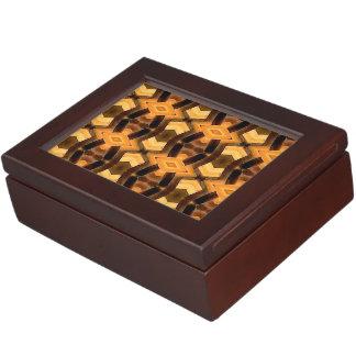 Basket Weave Pattern Memory Box