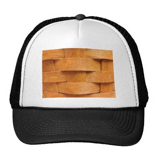 How To Make A Basket Weave Hat : Basket weave pattern trucker hat zazzle