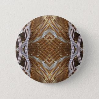 Basket Weaver World Pinback Button