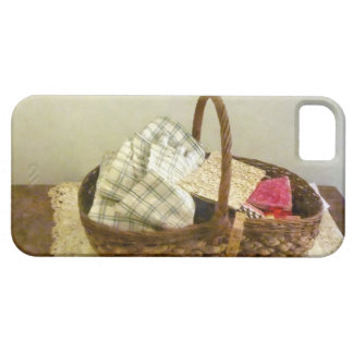 Basket With Cloth and Measuring Tape iPhone 5 Case