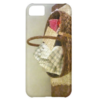 Basket With Cloth and Measuring Tape iPhone 5C Case