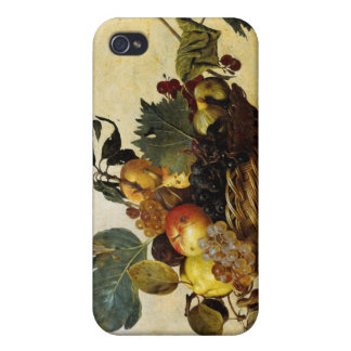 Basket with Fruit Caravaggio iPhone 4/4S Covers