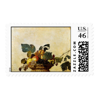 Basket with Fruit, Caravaggio Postage
