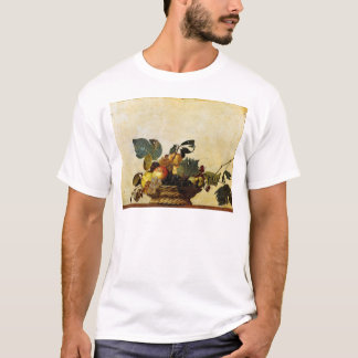 Basket with Fruit, Caravaggio T-Shirt