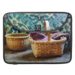 Basket With Knitting MacBook Pro Sleeves