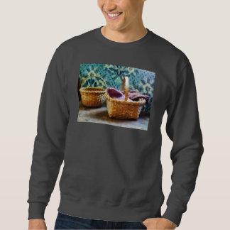 Basket With Knitting Sweatshirt