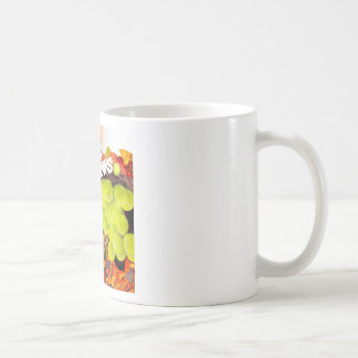 Basket with tennis ball in Thanksgiving Coffee Mug