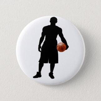 basketabll gifts pinback button