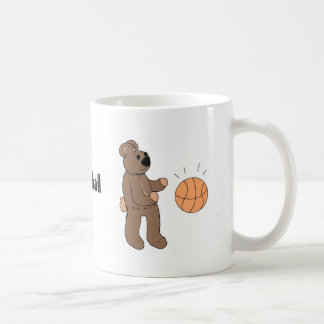 Basketall Playin' Teddybear Coffee Mug