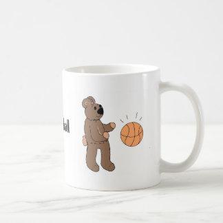 Basketall Playin' Teddybear Coffee Mug